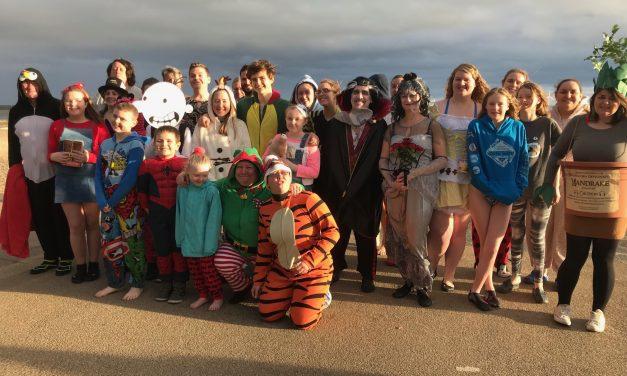 Blyth Lifeguards Annual Christmas Day Dip