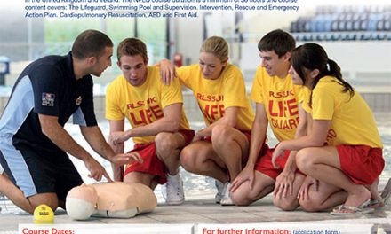 Pool Lifeguard, 1 Week Course, April 2018